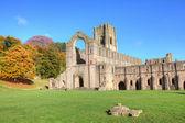 Fountains abbey — Stockfoto