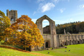 Fountains Abbey — 图库照片