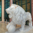 Stock Photo: Lion sculpture