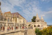 Fisherman's Bastion in Budapest. — Stock Photo