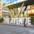 The Avenue Quarter in Manchester. — Stock Photo