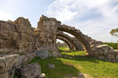 Ancient Roman site of Salamis near Famagusta. — Stock Photo