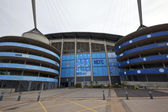 Manchester City Football Club Etihad stadium. — Stock Photo