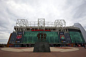 Manchester United stadium in Old Trafford. — Stock Photo