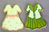 Iced fashion cookies. — Stock Photo