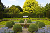 Formal English garden. — Stock Photo