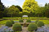 Formal English garden. — Stock Photo