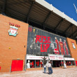 Stock Photo: Liverpool Football Club stadium