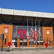 Liverpool Football Club stadium. — Stock Photo