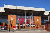 Liverpool Football Club stadium. — Stock Photo