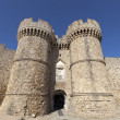 Marine Gate (also Sea Gate) at the old city of Rhodes, Greece. — Stock Photo #29572225