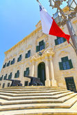 Historic building in Valletta, Malta. — Stock Photo