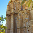 Lala Mustafa Pasha Mosque also St. Nicholas Cathedral in Famagusta, Cyprus. — Stock Photo