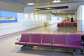 Airport's departure lounge. — Stock Photo