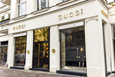 Gucci store in Berlin Germany. — Stock Photo