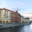 Banks of river Spree in central Berlin. — Stock Photo