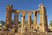 The Gothic ruins of the Church of St John in Famagusta (Gazimagusa) in Cyprus. — Stock Photo