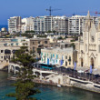 Stock Photo: Cityscape at St. Julians in Malta.