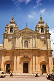St. Pauls Cathedral in Mdina, Malta. — Stock Photo