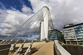 The MediaCityUK in Manchester England. — Stock Photo