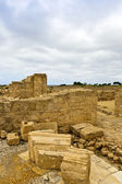 The Archaeological Helenistic and Roman site at Kato Paphos in Cyprus. — Stock Photo