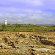 The Archaeological Helenistic and Roman site at Kato Paphos in Cyprus. — Stock Photo #43561513