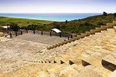 Antigo teatro romano perto de limassol, chipre. — Fotografia Stock