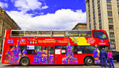 Sightseeing bus in Moscow, Russia. — Stock Photo