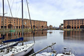 Historic Albert Dock in Liverpool. — Stock Photo