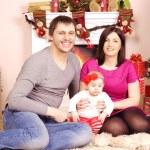 Happy Christmas family — Stock Photo #39395949