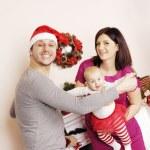 Happy Christmas family — Stock Photo #39396029