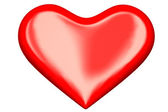 3d perfect heart — Stock Photo