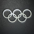 Olympic rings — Stockfoto #40099255