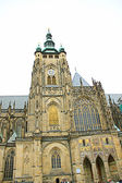 The old cathedral of Pragyue (Czech Republic) — 图库照片