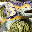 Dragon in Park Güell (Barcelona) — Stock Photo #23996515