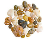 Round pebble stones — Stock Photo