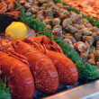 Royalty-Free Stock Photo: Show-window of seafood