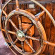 Steering wheel sailboat — Stock Photo #12228969