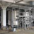 Stock Photo: Dairy industry machiner