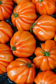 Tomatoes on the counter — Stock Photo