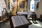 Bible in the Cathedral — Stok fotoğraf