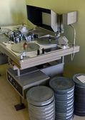 Apparatus for retouching film — Stock Photo