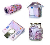 Currency european union — Stock Photo