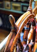 Stuurwiel zeilboot — Stockfoto