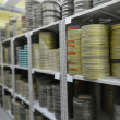 Films were stored in archive — Stock Photo #21679575
