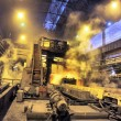 Shop rolled metal steel plant — Stock Photo