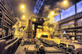 Shop rolled metal steel plant — Stockfoto