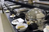 Açık büfe - bir lokantada yemek seçimi — Stok fotoğraf
