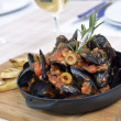 Mussels saute (ragout) — Stock Photo #22740457