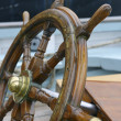 Steering wheel sailboat — Stock Photo #23866051
